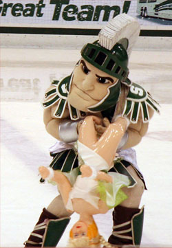 Sparty the Spartan (File Photo)